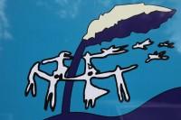 Das zweite Trauma Symbol des Friedensparkes von S. Anna